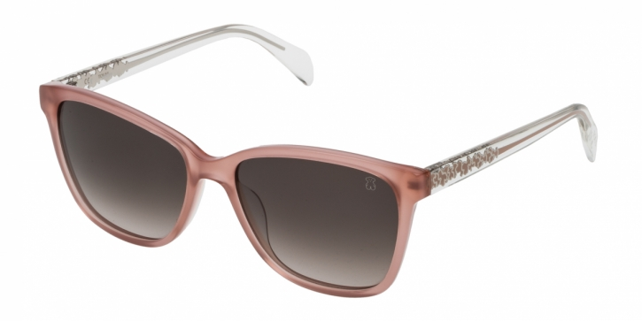 Gafas de sol Tous STOA07 01AC OLD ROSE+TRANSPARENT PALE PINK-GREEN GRADIENT POWDER
