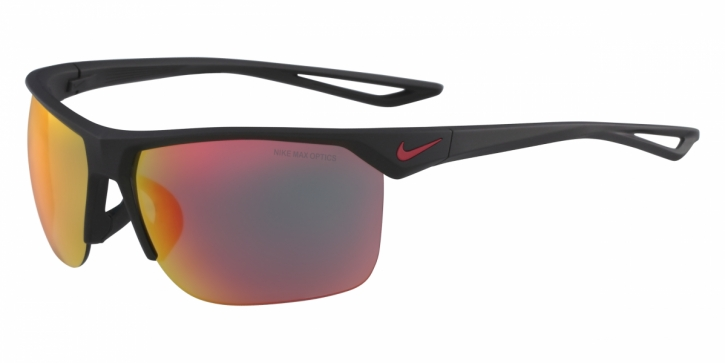 Gafas de sol Nike NIKE TRAINER R EV1013 006 MATTE BLACK W/GREY ML RED