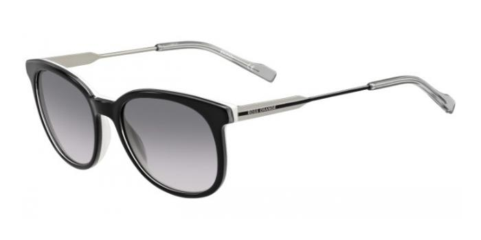 Gafas de sol Boss Orange BO 0232/S LFQ (EU) BLACK/CRYSTAL WHITE/PALLADIUM / GREY SHADED