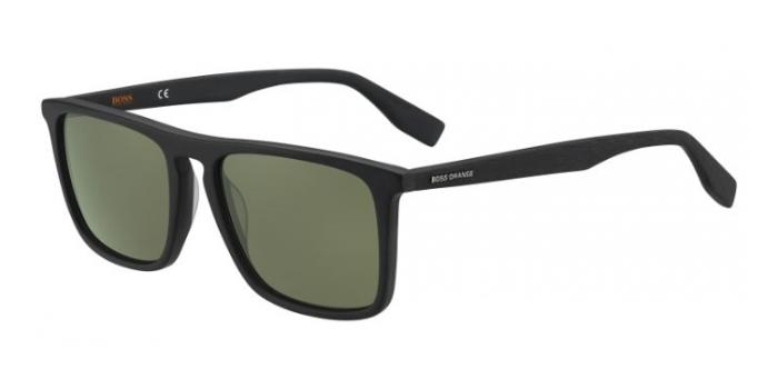 Gafas de sol Boss Orange BO 0320/S 2W7 (QT) MTBK WOOD - GREEN