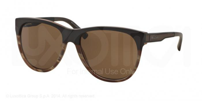 Gafas de sol Bvlgari BV7025 535673 SAND BROWN ON HORN - BROWN