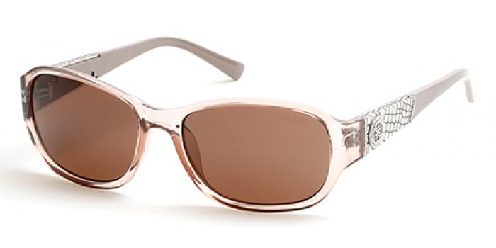 Gafas de sol Guess GU7425 57E beige brillo / marró