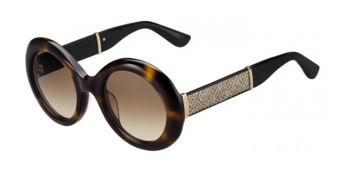 Gafas de sol Jimmy Choo WENDY/S 16Y (S1) HVNGLTTBK / BROWN SF
