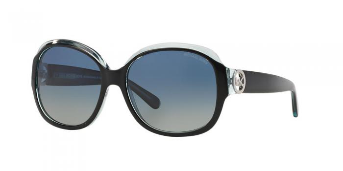 Gafas de sol Michael Kors MK6004 KAUAI 30011H BLACK/BLUE - BLUE GREEN POLARIZED