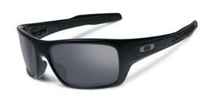 5fbe1d178e Oakley TURBINE OO9263 926303 POLISHED BLACK - BLACK IRIDIUM 63
