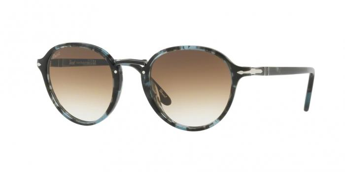 Gafas de sol Persol PO3184S 106251 SPOTTED BLUE DARK GREY - CLEAR GREDIENT BROWN