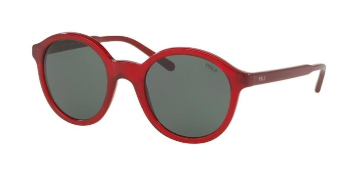 Gafas de sol Polo Ralph Lauren PH4112 545871 SHINY CRYSTAL RED - GREEN