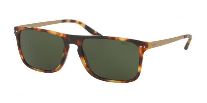 Gafas de sol Polo Ralph Lauren PH4119 535171 VINTA NEW JERRY TORTOISE - DARK GREEN