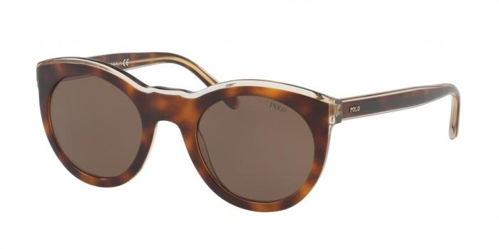 Gafas de sol Polo Ralph Lauren PH4124 564073 LIGHT HAVANA ON SMOKE CRYSTAL - BROWN