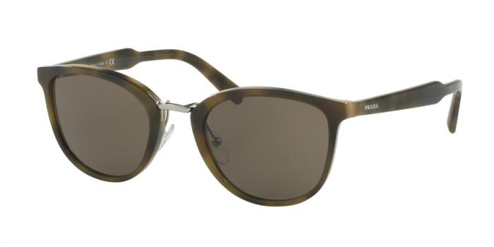 Gafas de sol Prada PR 22SS U6A5S2 STRIPED GREEN - BROWN