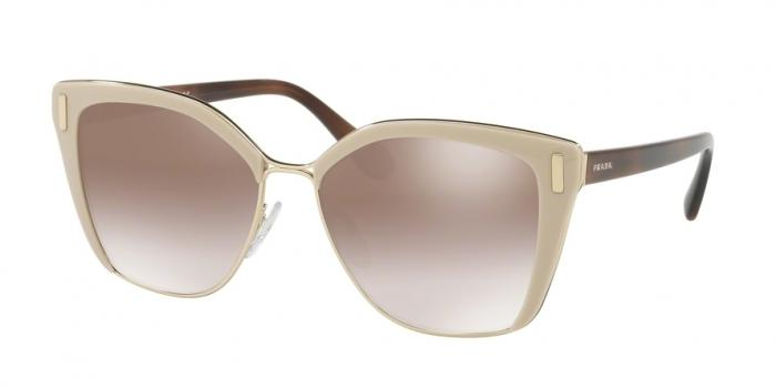 Gafas de sol Prada PR 56TS VHR4O0 LIGHT BROWN/PALE GOLD - GRADIENT BROWN MIRROR SILVER