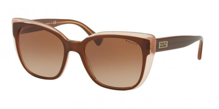 Gafas de sol Ralph RA5242 568413 SHINY TOP BROWN ON CARAMEL - BROWN GRADIENT