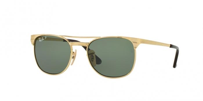 Gafas de sol Ray-Ban Junior RJ9540S 223/9A GOLD - POLAR GREEN