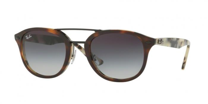 Gafas de sol Ray-Ban RB2183 12268G TOP BROWN HAVANA/HAVANA BEIGE - GREY GRADIENT MIRROR BLUE