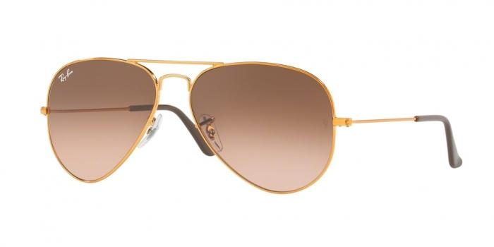 Gafas de sol Ray-Ban RB3025 9001A5 SHINY LIGHT BRONZE - PINK GRADIENT BROWN