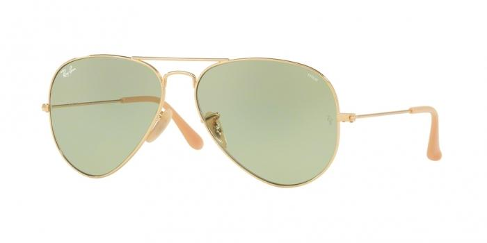 Gafas de sol Ray-Ban RB3025 90644C GOLD - PHOTO GREEN