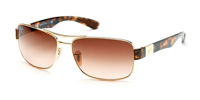 Gafas de sol Ray-Ban RB3522 001/13 ARISTA - BROWN GRADIENT