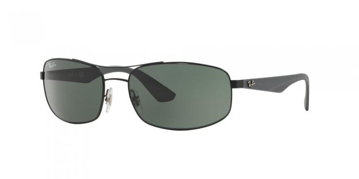 Gafas de sol Ray-Ban RB3527 006/71 MATTE BLACK - GREY GREEN