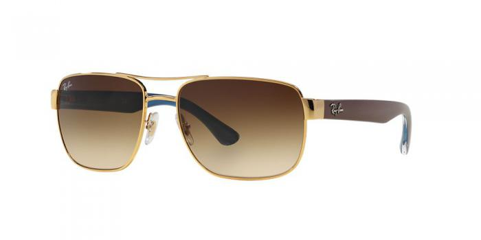 Gafas de sol Ray-Ban RB3530 001/13 GOLD - BROWN GRADIENT