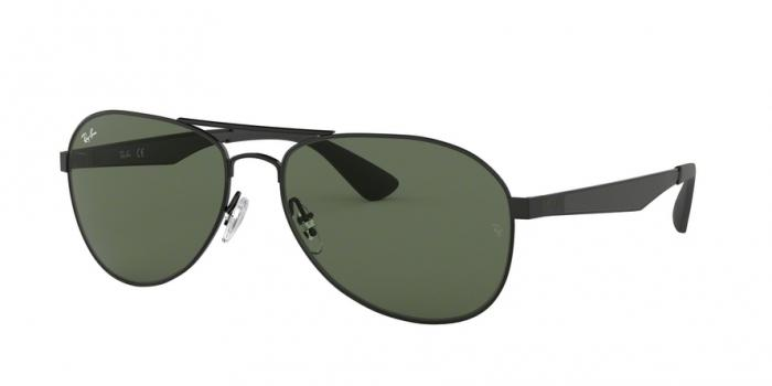 Gafas de sol Ray-Ban RB3549 006/71 MATTE BLACK - GREEN