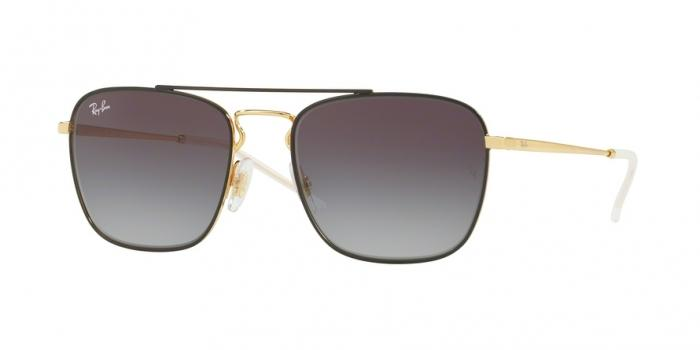 Gafas de sol Ray-Ban RB3588 90548G GOLD ON TOP BLACK - GREY GRADIENT DARK GREY