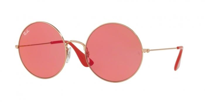 Gafas de sol Ray-Ban RAY-BAN JA-JO RB3592 9035C8 SHINY COPPER - PINK MIRROR RED
