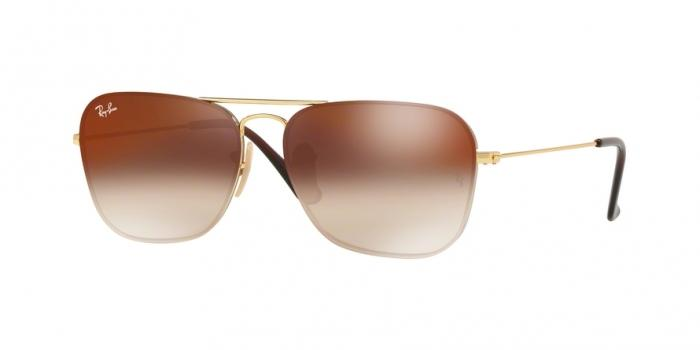Gafas de sol Ray-Ban RB3603 001/S0 GOLD - BROWN GRADIENT