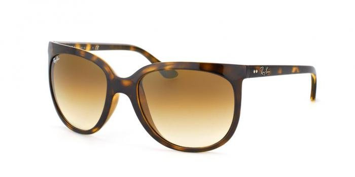 Gafas de sol Ray-Ban CATS 1000 RB4126 710/51 LIGHT HAVANA - CRYSTAL BROWN GRADIENT