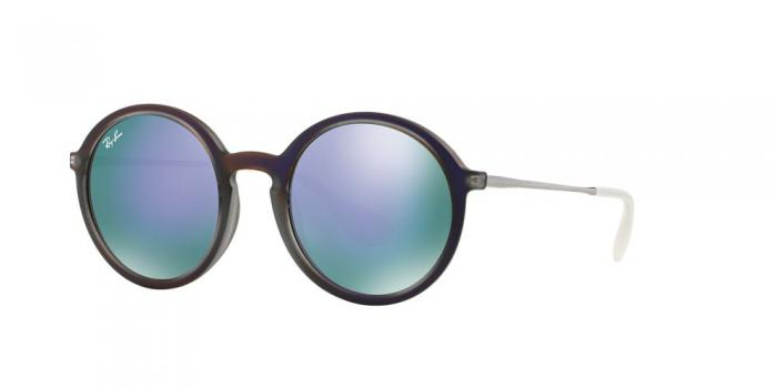 Gafas de sol Ray-Ban RB4222 61684V SHOT VIOLET RUBBER - GREY MIRROR VIOLET