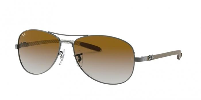 Gafas de sol Ray-Ban RB8301 004/51 GUNMETAL - CRYSTAL BROWN GRADIENT