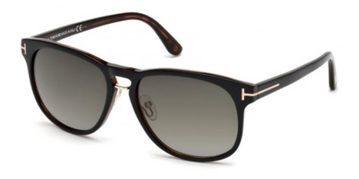 Gafas de sol Tom Ford FT0346 FRANKLYN 01V negro brillo / azul