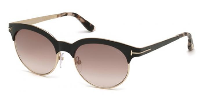 Gafas de sol Tom Ford FT0438 ANGELA 01F negro brillo / marró