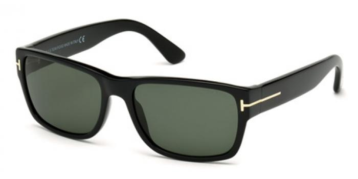 Gafas de sol Tom Ford FT0445 MASON 01N negro brillo / verde