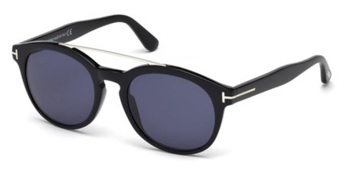 Gafas de sol Tom Ford FT0515 HOLT 01V negro brillo / azul