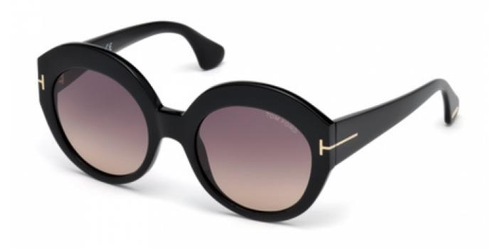Gafas de sol Tom Ford FT0533 RACHEL 01B negro brillo / gris