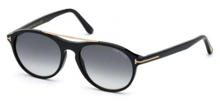 Gafas de sol Tom Ford FT0556 CAMERON 01B negro brillo / gris