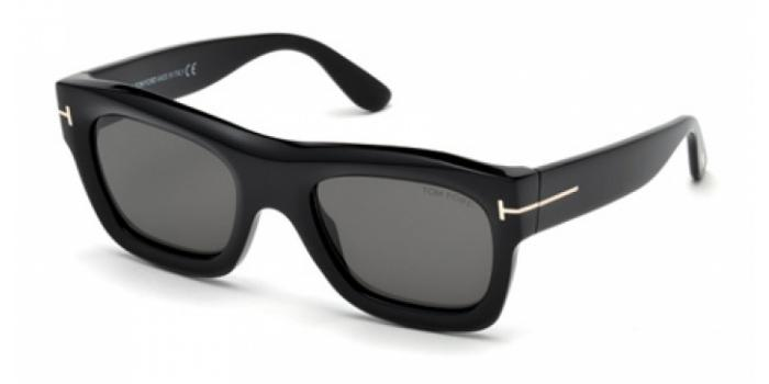 Gafas de sol Tom Ford FT0558 WAGNER 01A negro brillo / gris