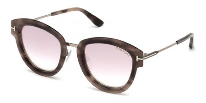 Gafas de sol Tom Ford FT0574 MIA 55Z havana colorada / es
