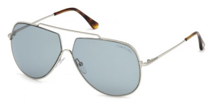 Gafas de sol Tom Ford FT0586 CHASE 16A plata brillo / gris
