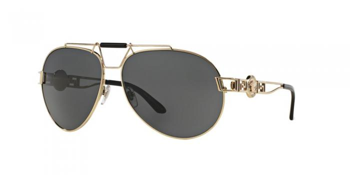 Gafas de sol Versace VE2160 125287 PALE GOLD - GREY