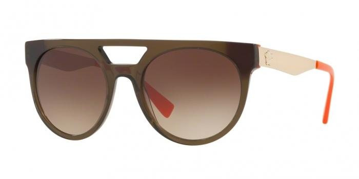 Gafas de sol Versace VE4339 523513 TRANSPARENT GREEN/ORANGE - BROWN GRADIENT