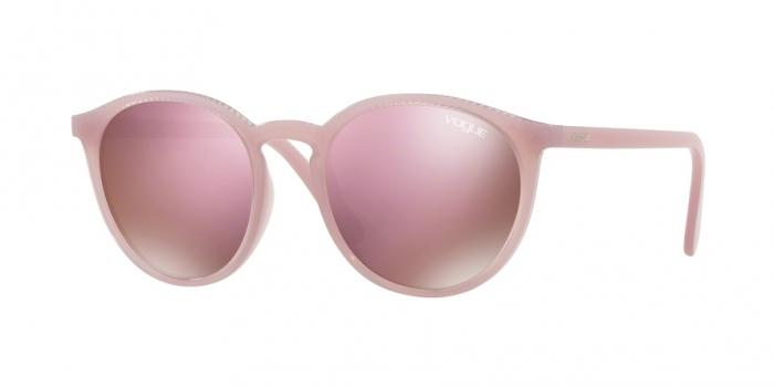 Gafas de sol Vogue VO5215S 26095R OPAL VIOLET - DARK BROWN MIRROR PINK
