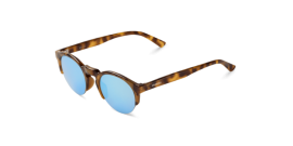 Gafas de sol Mr. Boho Born BH-14 BH-14 Hc Tortoise Born with Sky Blue Lenses