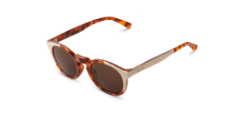 Gafas de sol Mr. Boho Jordaan AG1-08 AG1-08 Cream / Leo Tortoise Jordaan with Classical Lenses