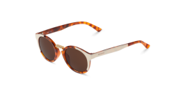 Gafas de sol Mr. Boho Fitzroy EG1-08 EG1-08 Cream / Leo Tortoise Fitzroy with Classical Lenses
