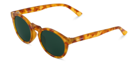 Gafas de sol Mr. Boho Jordaan AT18-11 AT18-11 Caramel Jordaan with classical lenses