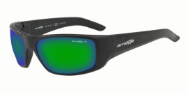 Gafas de sol Arnette AN4182 01/1I MATTE BLACK - POLAR GREY MIRROR GREEN