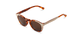 Gafas de sol Mr. Boho Jordaan AG1-08-P AG1-08-P Cream / Leo Tortoise Jordaan with Classical Lenses Polarized