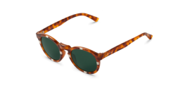 Gafas de sol Mr. Boho Jordaan AG9-11-P AG9-11-P Cross Cream / Leo Tortoise Jordaan with Classical Lenses Polarized