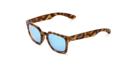 Gafas de sol Mr. Boho Salesas LH-14-P LH-14-P Hc Tortoise Salesas with Sky Blue Lenses Polarized